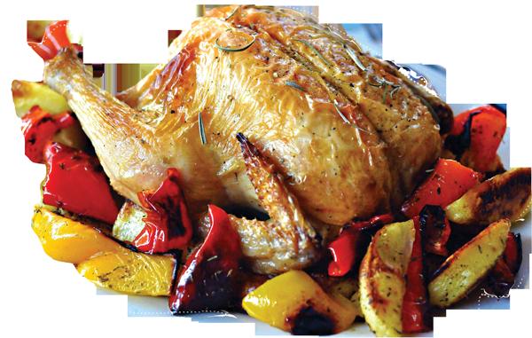 pollo e patate a domicilio
